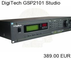 DigiTech GSP2101 Studio Tube Preamp / Multi-Effects Processor