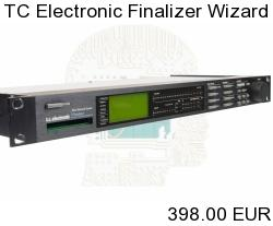 TC Electronic Finalizer The Wizard Series Mastering Processor