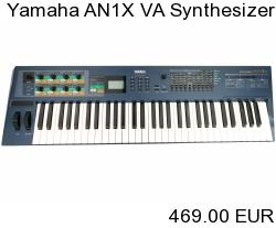 Yamaha AN1X Virtuell Analog VA Synthesizer Keyboard