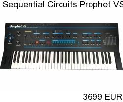 Sequential Circuits Prophet VS Analog Synthesizer