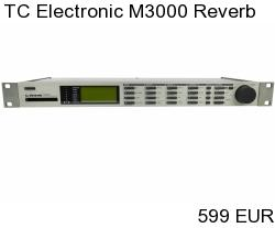 TC Electronic M3000 Studio Reverb Processor