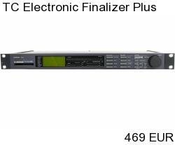 TC Electronic Finalizer Plus Mastering Processor