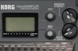 Korg MS1 microSampler