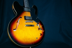 Epiphone The Dot Vintage Sunburst  E-Gitarre