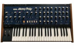 KORG MONOPOLY Analog Vintage Retro Synthesizer + Flightcase