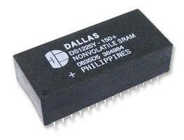 Dallas DS1225Y-150+ (DS1225Y) DALLAS 64K Nonvolatile SRAM