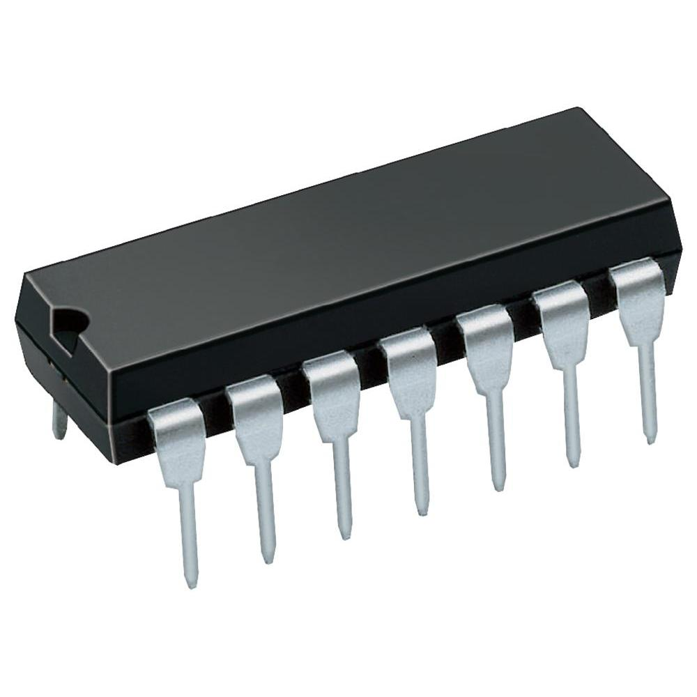 LF347N Wide Bandwidth Quad JFET Input Operational Amplifiers