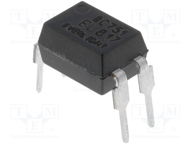 EL817 4 PIN DIP PHOTOTRANSISTOR PHOTOCOUPLER EL817